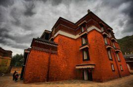 藏式建筑图片
