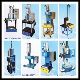 气动压床利用压缩机产生的高压气体,通过管道将压缩气体输送至电磁阀图片