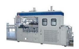 吸塑成型设备包括夹持系统,加热系统,真空和压缩空气系统及成型模具图片