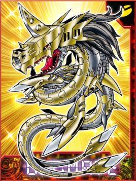 金属海龙兽图片