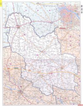 亳州市行政区划图图片