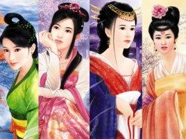 中国古代四大美女 百度百科