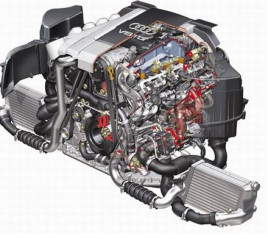 汽油机的燃料是在进气行程中与空气混合后进入气缸,然后被火花塞点燃图片