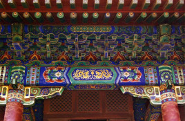 中国传统建筑以汉族建筑为主流,主要包括如城市,宫殿,坛庙,陵墓,寺观图片