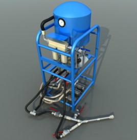 矿用气动注浆泵图片