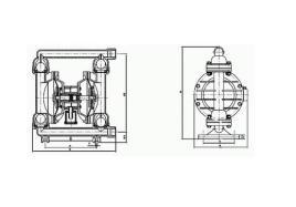 中文名 qby1气动隔膜泵 类别 机械设备 工作图片