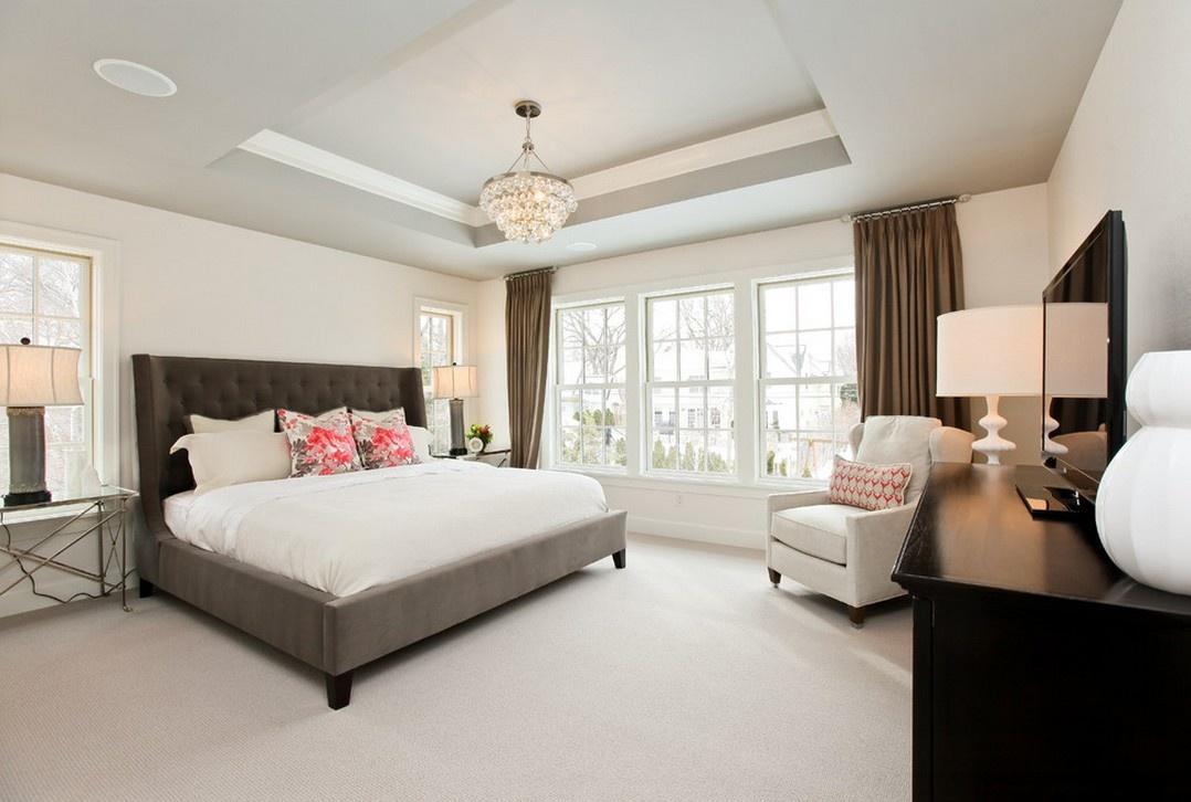简欧风格大卧室装修效果图大全2012图片图片