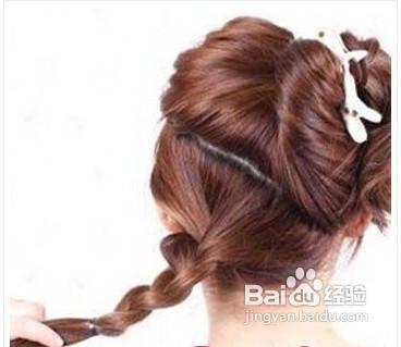 韩式马尾辫扎法图片