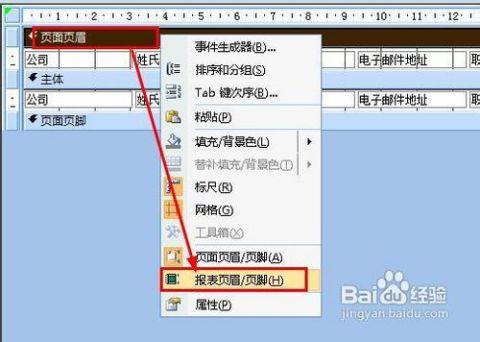 access怎样通过空白报表创建报表图片