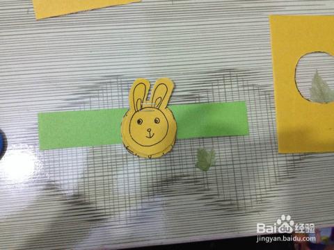 如何利用卡纸做创意手工儿童手表图片