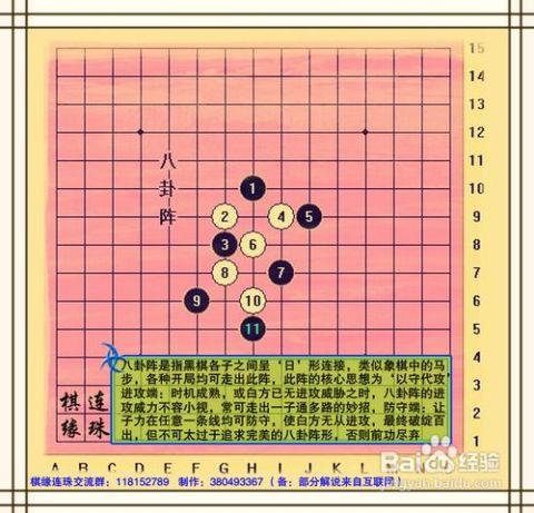 五子棋技巧各种阵法 五子棋13步必胜技巧 怎样才能下好五子棋 五子棋图片