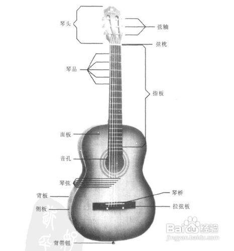 民谣吉他自学教程图片