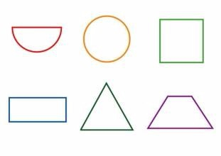 掌握基础的图形,如线,点,弧,圆,长方形,正方形等.图片