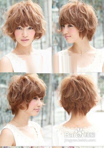 圆脸适合什么样的�yg�_圆脸女生适合什么样短发发型