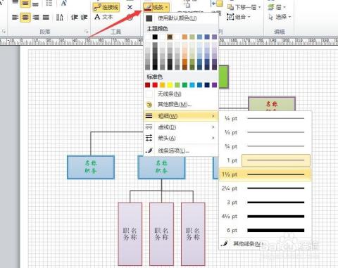 如何制作组织架构图_电脑软件图片