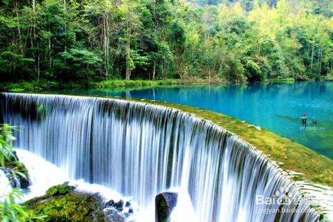 石上森林—水上森林—翠谷瀑布—拉关瀑布—小七孔综合服务中心—天钟图片