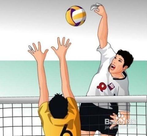 排球正面双手下手垫球练习5法 高清图片