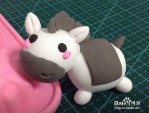 超轻粘土制作方法教程 十二生肖之马的做法图解图片