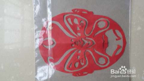 幼儿园手工面具剪纸