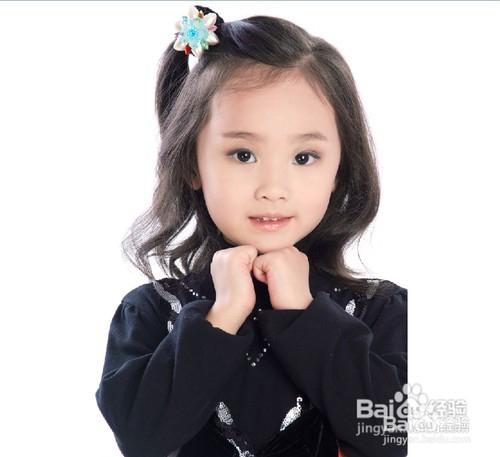 儿童编头发的方法图片