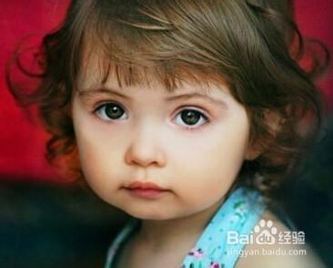 女宝宝的漂亮型