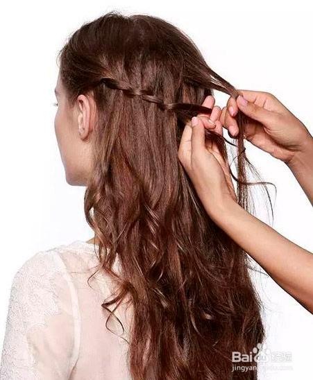 公主头半扎发发型教程图片