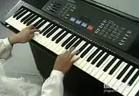 新手如何自学电子琴图片