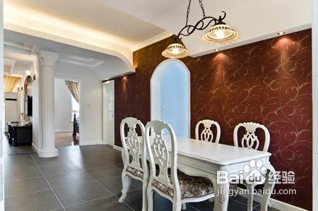 房子装修设计100平混搭简欧风图片