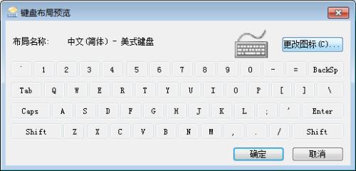 win7自定义键盘图标图片