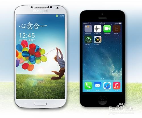 苹果5与三星s4�:/�_三星galaxy s4和苹果 iphone5s哪个好?