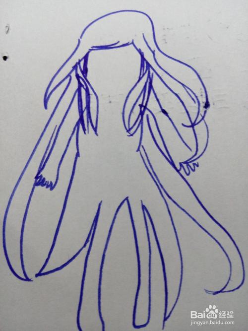 教你学画画:[8]怎么画q版小女?图片