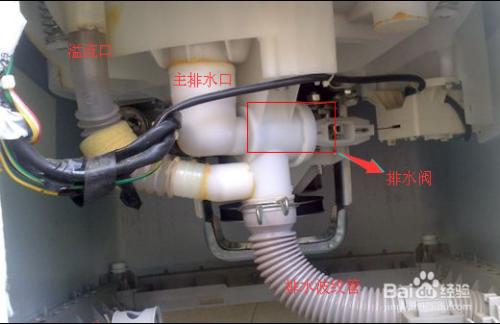 3 了解洗衣机排水方式. 4 认识排水阀结构.图片