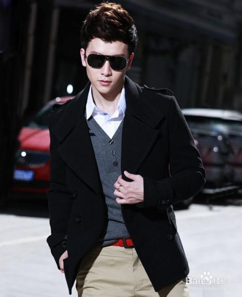 冬季男士衣服搭配方案 高清图片