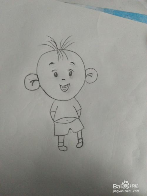 如何画简笔画大耳朵图图