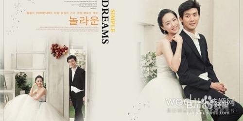 婚纱照相册版面设计图片