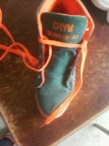 五角星形鞋带的系法图片
