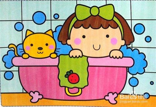 儿童画与儿童开发智力的关系图片