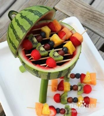 夏天怎么做美味水果拼盘大餐