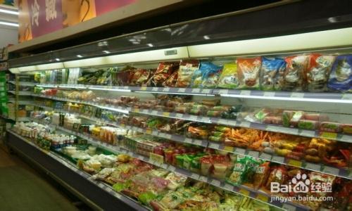 超市货品摆放图片-超市货架摆放标准-小超市食品 ...