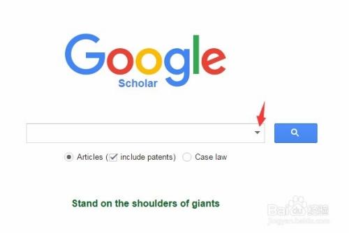 google.com访问谷歌学术网站.