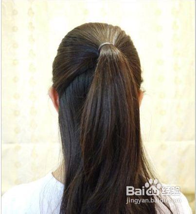 先绑一个公主头;;; 淑女范麻花辫盘发发型 简单盘发图解教程(1); 日常图片
