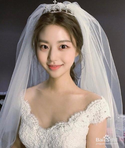 韩式新娘发型 最美新娘造型全在这图片
