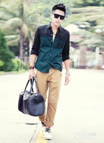 夏天穿衣攻略-男生穿衣服要怎么搭配才有魅力