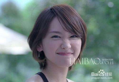 女生头发细软少油适合发型图片