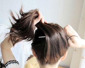 发簪盘发的详细步骤图片