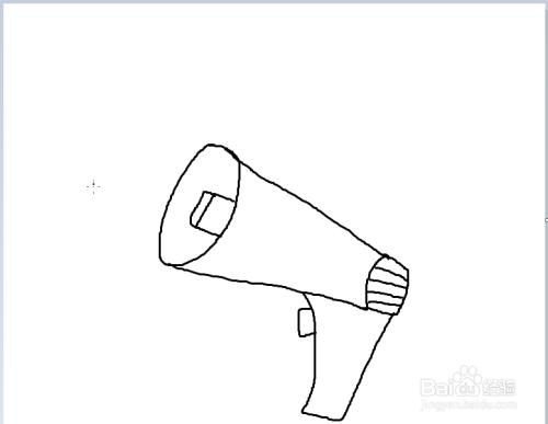 简笔画之大喇叭图片
