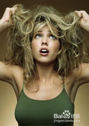 头发有静电怎么办图片