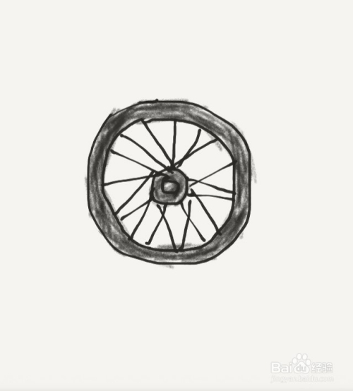 轮胎涂鸦_涂鸦系列之如何画自行车轮胎