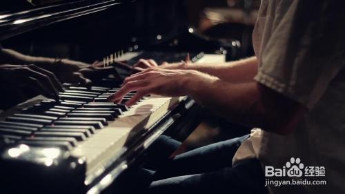 怎样自学钢琴图片