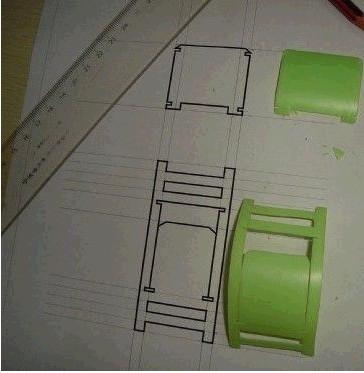 23 怎样用塑料瓶矿泉水瓶手工做小凳子 60 2010.11.图片